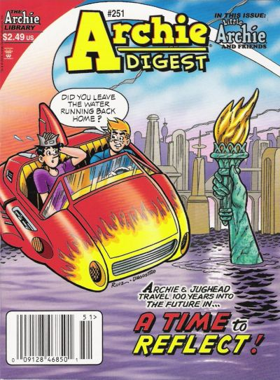 Cover for Archie Comics Digest (Archie, 1973 series) #251 [Direct]