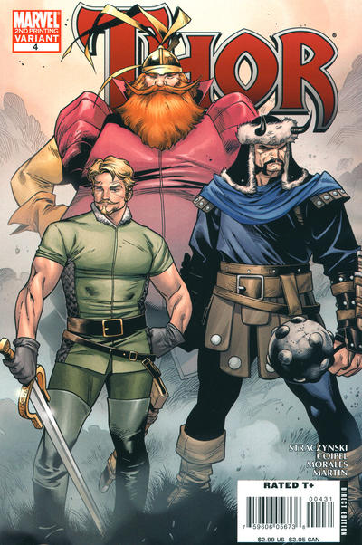 Cover for Thor (Marvel, 2007 series) #4
