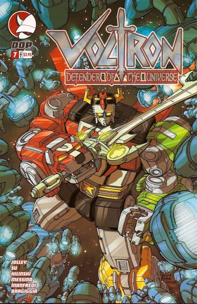 Cover for Voltron: Defender of the Universe (2004 series) #7