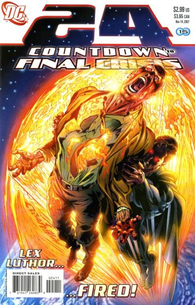 Cover for Countdown (DC, 2007 series) #24