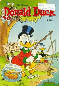 Cover Thumbnail for Donald Duck (Geïllustreerde Pers, 1990 series) #35/1992