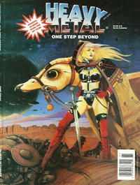 Cover for Heavy Metal: One Step Beyond (1996 series) #[nn]