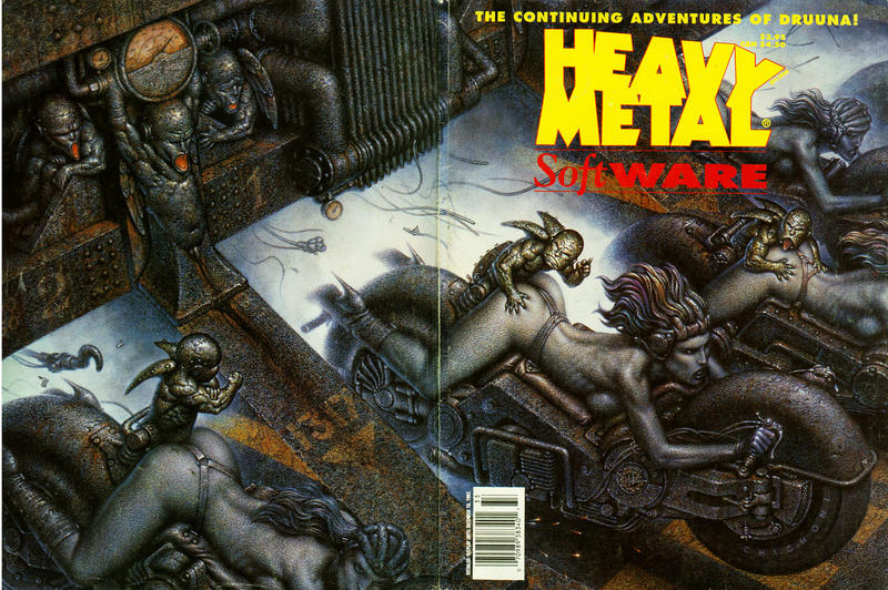 Cover for Heavy Metal Special Editions (Metal Mammoth, Inc., 1992 series) #v7#2 - Software