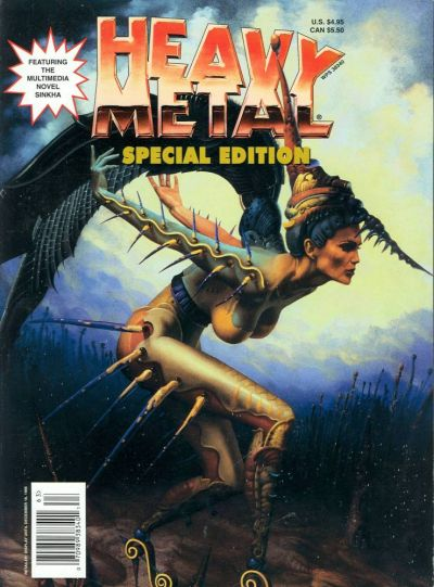 Cover for Heavy Metal Special Editions (Metal Mammoth, Inc., 1992 series) #v10#2 - Fall 1996