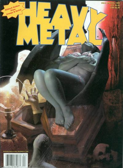 Cover for Heavy Metal Special Editions (Metal Mammoth, Inc., 1992 series) #v12#2 - The Best of Richard Corben