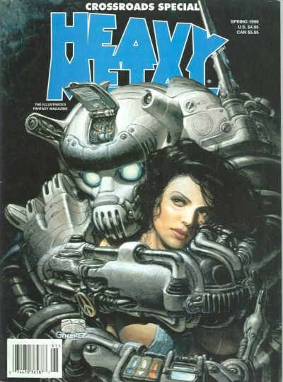 Cover for Heavy Metal Special Editions (Metal Mammoth, Inc., 1992 series) #v13#1 - Crossroads
