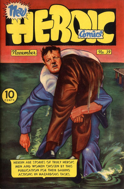 Cover for New Heroic Comics (Eastern Color, 1946 series) #39