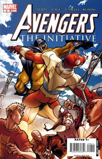 Cover for Avengers: The Initiative (Marvel, 2007 series) #8