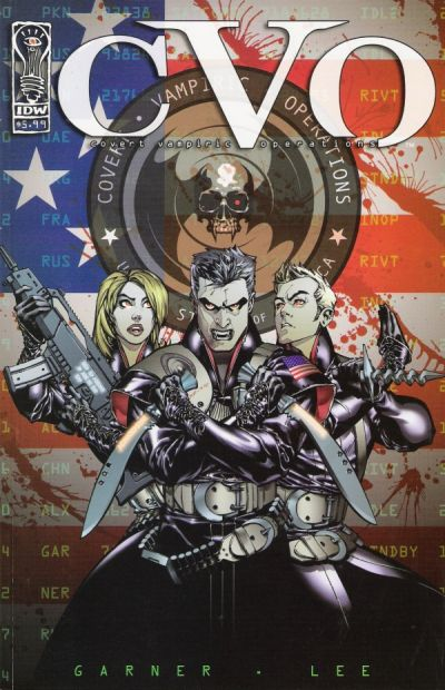 Cover for CVO: Covert Vampire Operations (2003 series) #[nn]