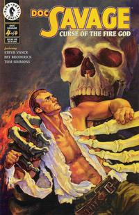 Cover for Doc Savage: Curse of the Fire God (Dark Horse, 1995 series) #4