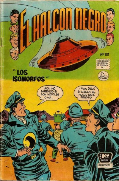 Cover for Halcon Negro (1951 series) #80