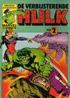Cover for De verbijsterende Hulk (Oberon, 1979 series) #2