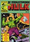 Cover for De verbijsterende Hulk (Oberon, 1979 series) #8