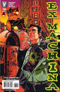 Cover for Ex Machina (DC, 2004 series) #32