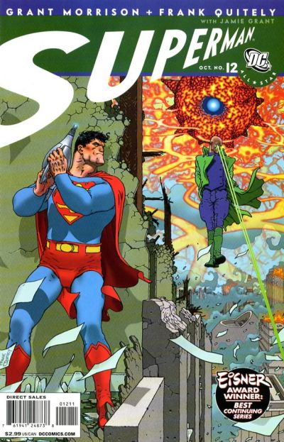 Cover for All Star Superman (DC, 2006 series) #12