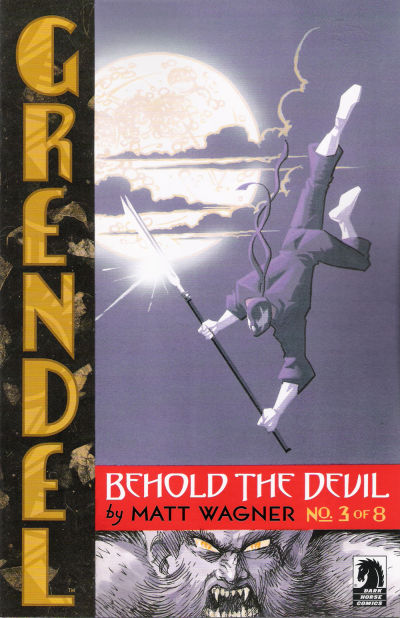 Cover for Grendel: Behold the Devil (Dark Horse, 2007 series) #3