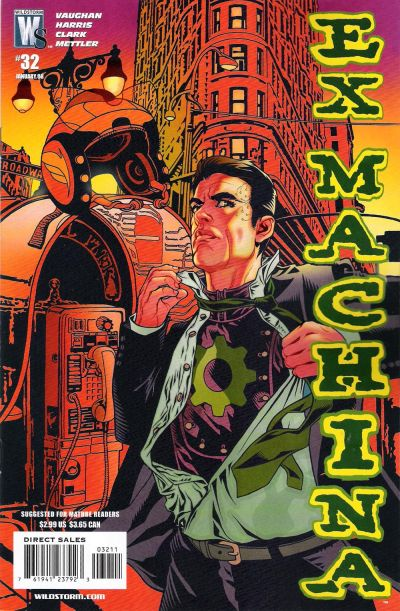 Cover for Ex Machina (2004 series) #32