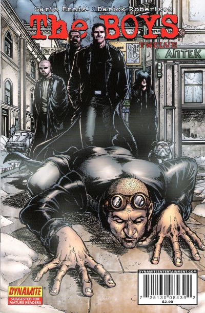 Cover for The Boys (Dynamite Entertainment, 2007 series) #12