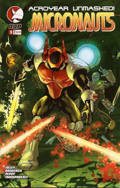 Cover for Micronauts (Devil's Due Publishing, 2004 series) #3