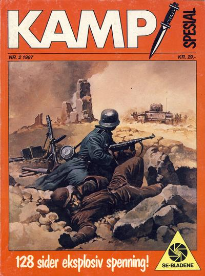 Cover for Kamp Spesial (Se-Bladene, 1986 series) #2/1987