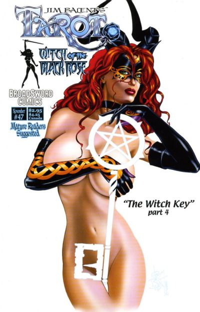 Cover for Tarot: Witch of the Black Rose (Broadsword, 2000 series) #47 [Cover A]