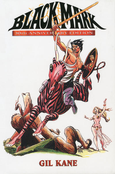 Cover for Blackmark 30th Anniversary Edition (Fantagraphics, 2002 series)