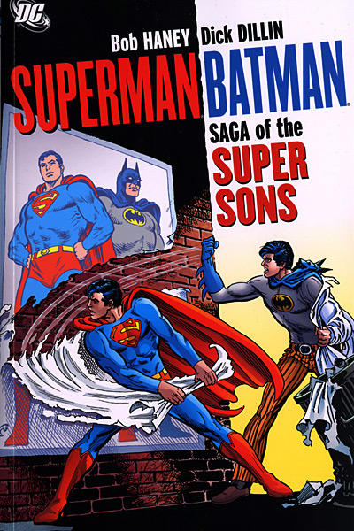 Cover for Superman / Batman: Saga of the Super Sons (DC, 2007 series)