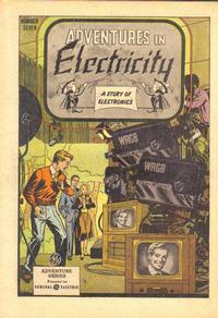 Cover for Adventures in Electricity (1945 series) #7