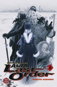 Cover Thumbnail for Battle Angel Alita: Last Order (Carlsen Comics [DE], 2003 series) #8
