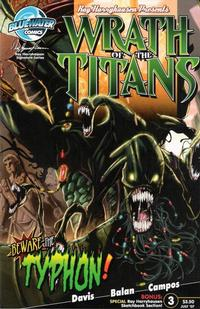 Cover Thumbnail for Wrath of the Titans (Bluewater Productions, 2007 series) #3 [Nadir Balen / Joey Campos Cover]