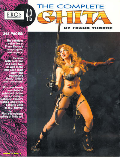 Cover for Eros Graphic Albums (Fantagraphics, 1991 series) #42 - The Complete Ghita