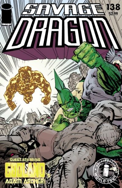 Cover for Savage Dragon (Image, 1993 series) #138