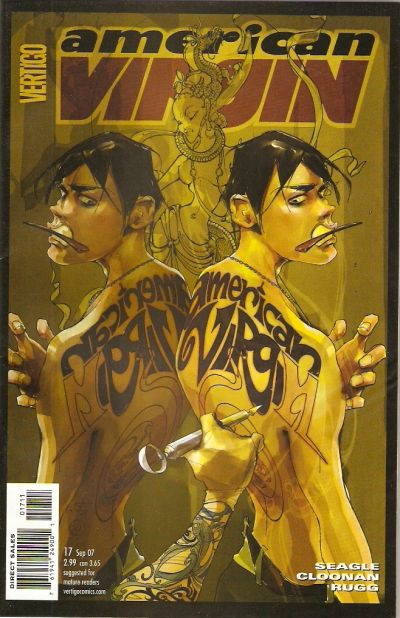 Cover for American Virgin (DC, 2006 series) #17