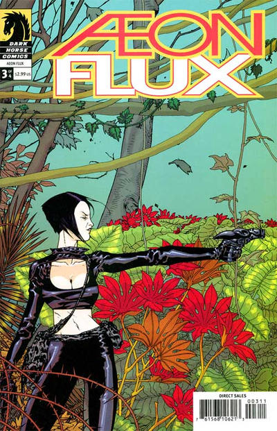 Cover for Aeon Flux (Dark Horse, 2005 series) #3