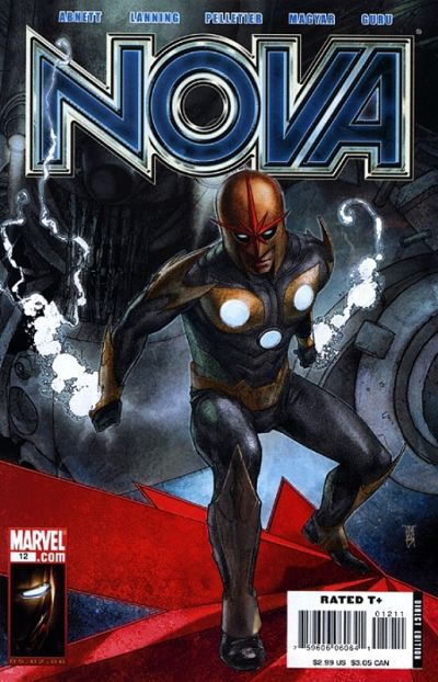 Cover for Nova (Marvel, 2007 series) #12