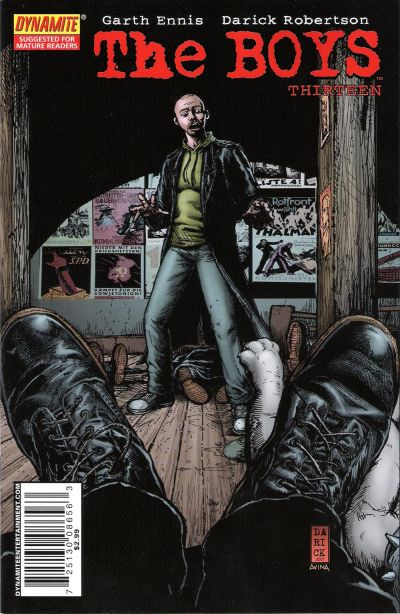 Cover for The Boys (Dynamite Entertainment, 2007 series) #13