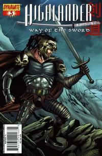 Cover Thumbnail for Highlander: Way of the Sword (Dynamite Entertainment, 2007 series) #3 [Cover A]