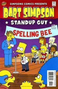 Cover Thumbnail for Simpsons Comics Presents Bart Simpson (Bongo, 2000 series) #39