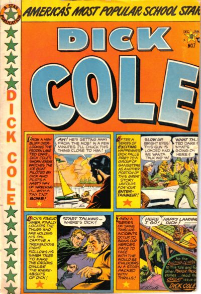 Cover for Dick Cole (Star Publications, 1949 series) #7