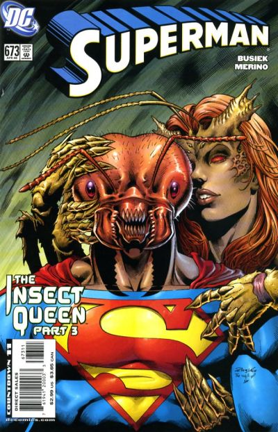 Cover for Superman (2006 series) #673