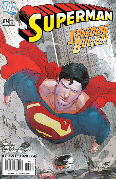 Cover for Superman (DC, 2006 series) #674