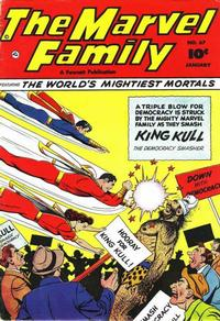Cover Thumbnail for The Marvel Family (Fawcett, 1945 series) #67