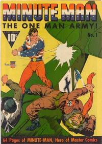Cover Thumbnail for Minute Man (Fawcett, 194