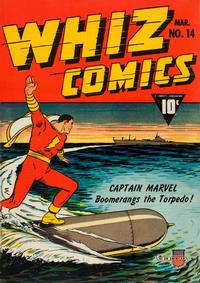 Cover Thumbnail for Whiz Comics (Fawcett, 1940 series) #14