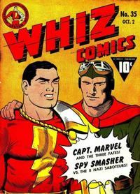 Cover Thumbnail for Whiz Comics (Fawcett, 1940 series) #35