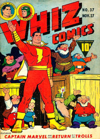 Cover Thumbnail for Whiz Comics (Fawcett, 1940 series) #37
