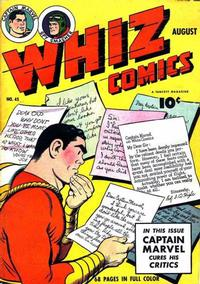 Cover Thumbnail for Whiz Comics (Fawcett, 1940 series) #45