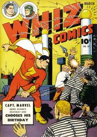 Cover Thumbnail for Whiz Comics (Fawcett, 1940 series) #52