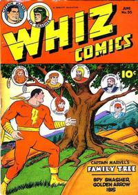 Cover Thumbnail for Whiz Comics (Fawcett, 1940 series) #55