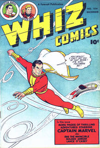 Cover Thumbnail for Whiz Comics (Fawcett, 1940 series) #104